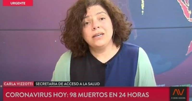 Carla Vizzotti reconoció que esperan que los casos de coronavirus bajen primero en la Ciudad que en la Provincia