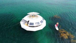 Hospedajes de lujo para el futuro: cómo es la nueva suite flotante y ecológica
