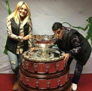 El mundo del tenis despide a Diego Armando Maradona