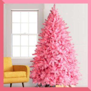 Los árboles de Navidad rosa son la tendencia de 2020