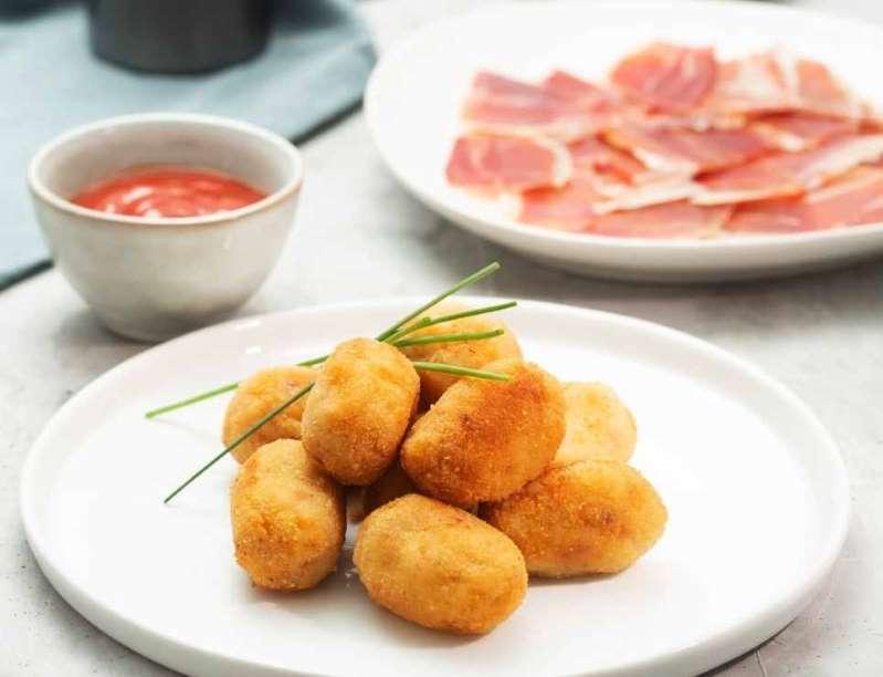 Destaca con esta receta de croquetas de jamón serrano