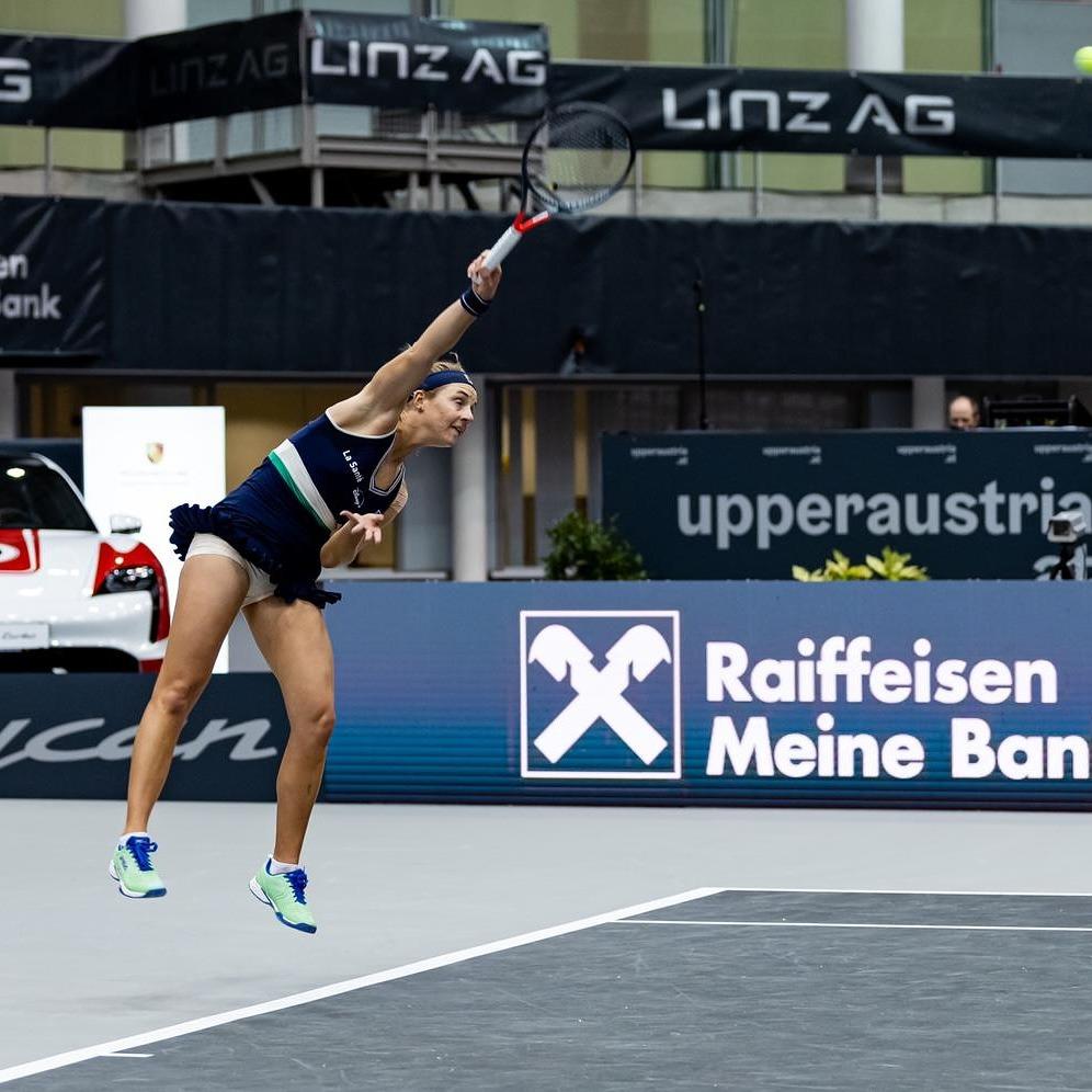En este momento estás viendo Tras una temporada exitosa, Nadia cayó ante Alexandrova en Linz