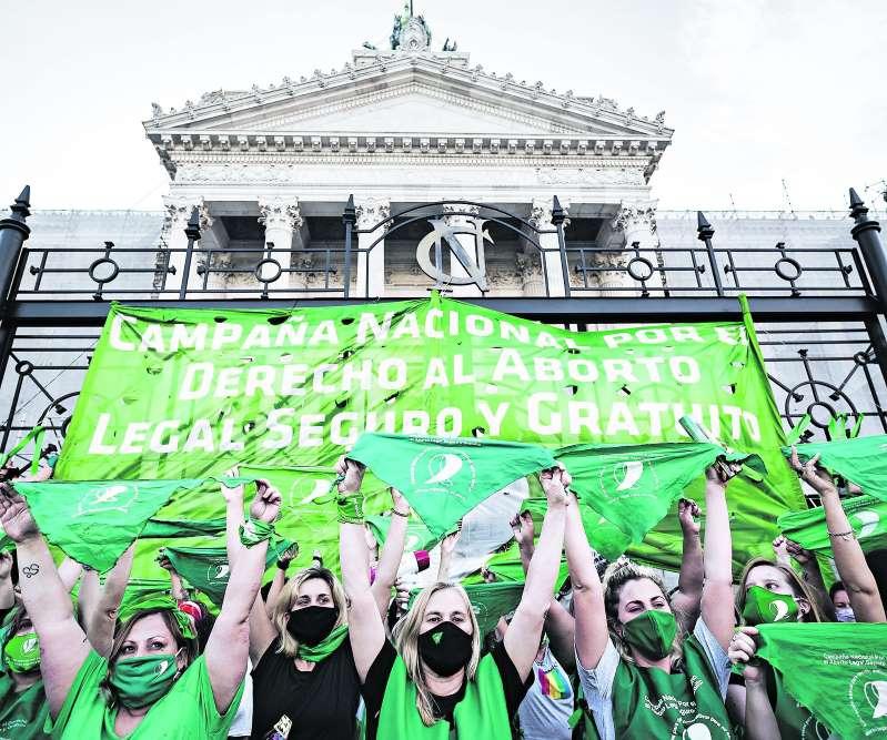 Argentina se alista para el debate final sobre la legalización del aborto