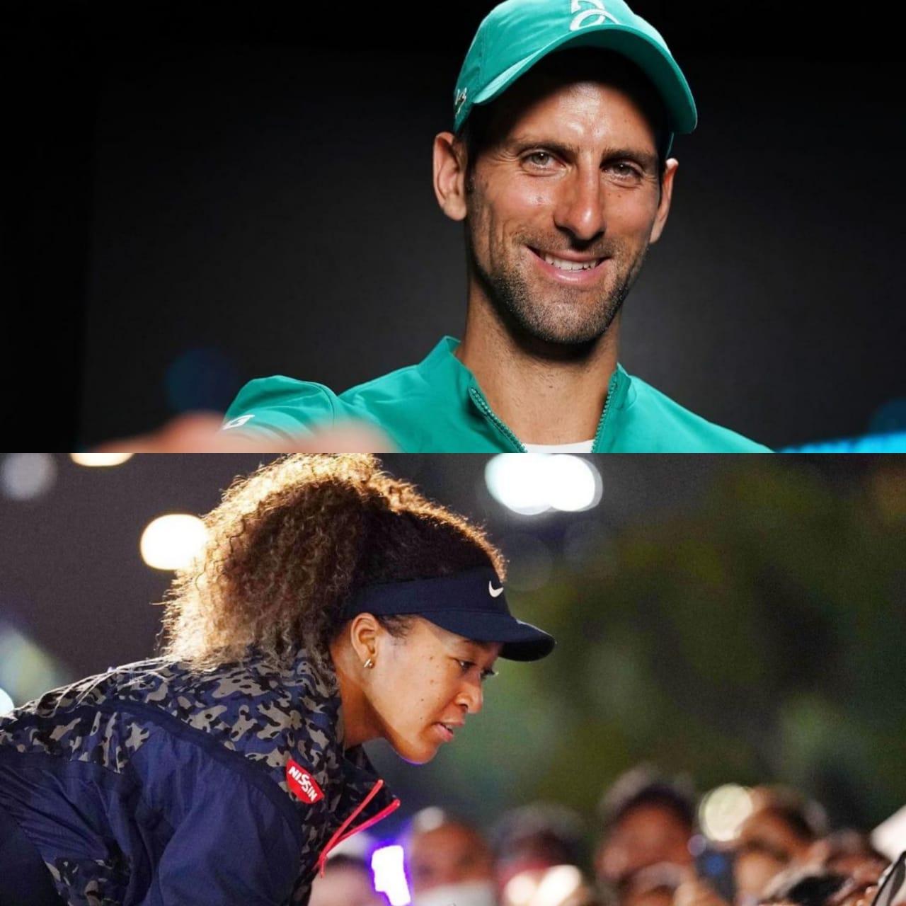 Djokovic y Osaka conquistaron el Australian Open