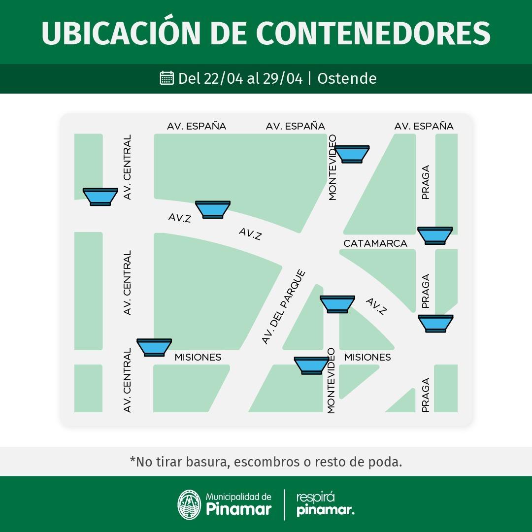 CONTENEDORES Y LIMPIEZA UNIFICADA EN LOS BARRIOS