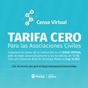 Lee más sobre el artículo TARIFA CERO PARA ASOCIACIONES CIVILES