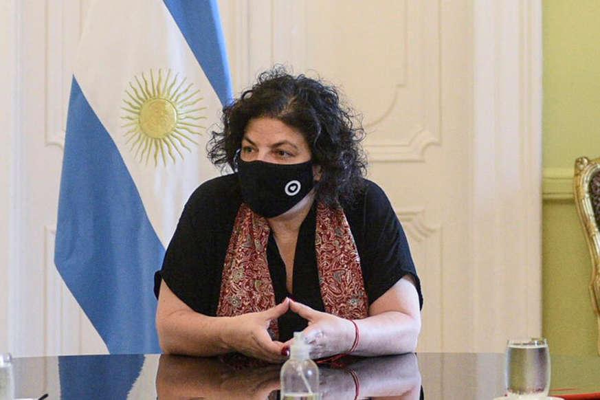 Carla Vizzotti: «Hay gente que decide no vacunarse por las mentiras que se dicen»