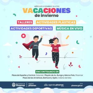 Lee más sobre el artículo VACACIONES DE INVIERNO EN PINAMAR