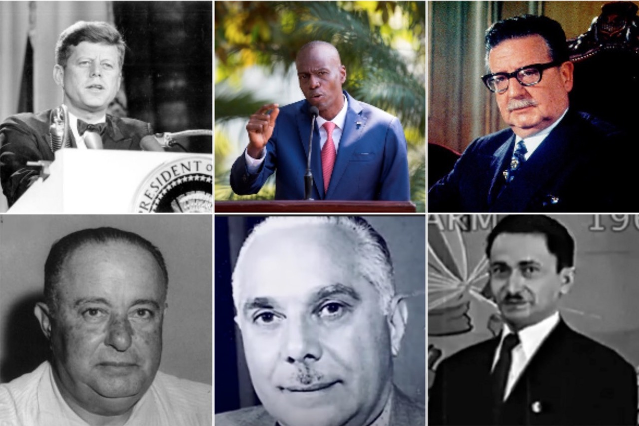 En este momento estás viendo Los 12 presidentes asesinados en América en los últimos 120 años