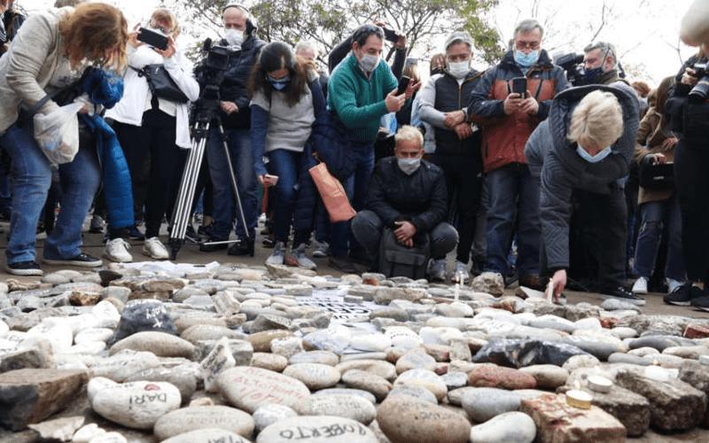 """En este momento estás viendo """"Marcha de las piedras"""": el Gobierno construirá un espacio de memoria"""