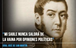 Lee más sobre el artículo Las 10 frases de San Martín que hicieron historia