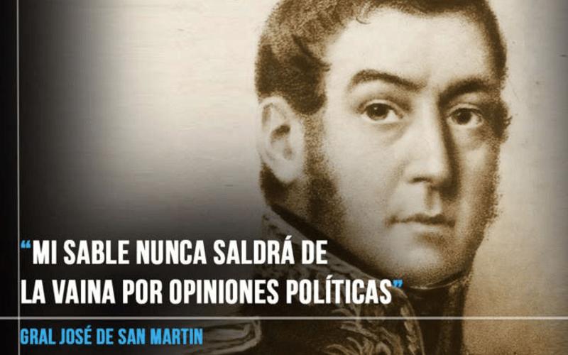En este momento estás viendo Las 10 frases de San Martín que hicieron historia