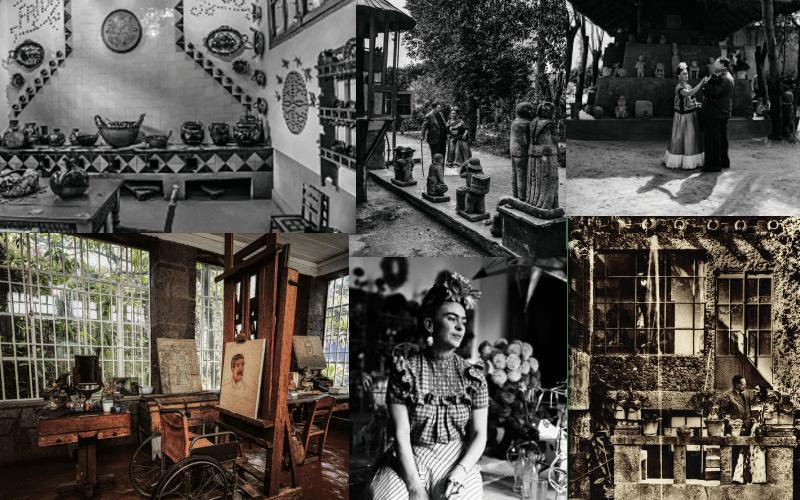 En este momento estás viendo Las fotos nunca vistas de la Casa Azul, el hogar de Frida Kahlo