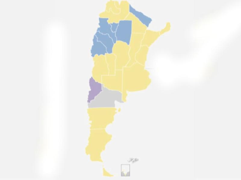 En este momento estás viendo Mapa electoral ARGENTINA